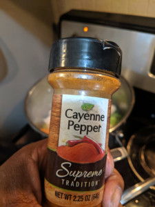 Spicy Turmeric Dish