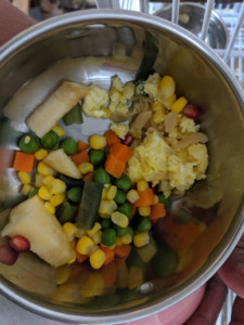 Finished Meal - Basic Chop for Parrots