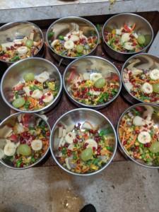 Simple 2 Beans & Rice Pomegranate Dish