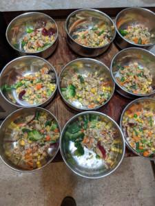 Sweet Bananna Jungle Rice Dish