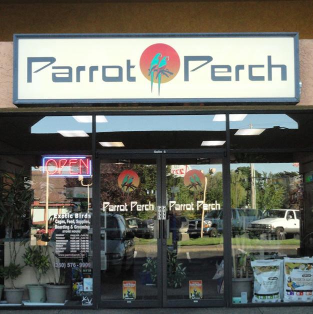 Parrot Perch, Vancouver WA