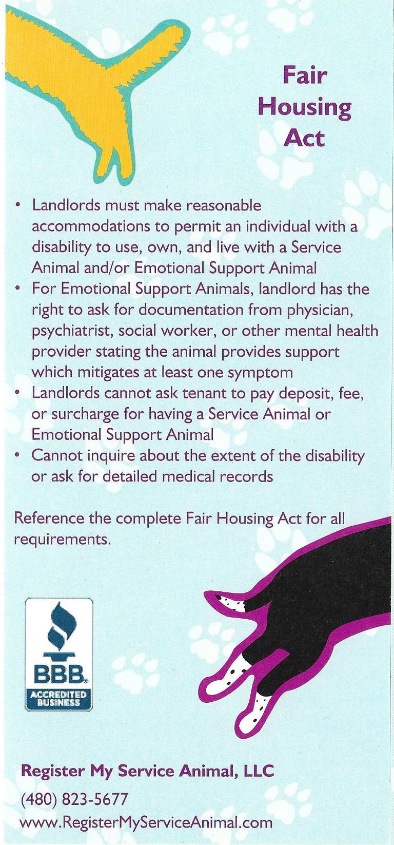 Veterans Support Pamphlet