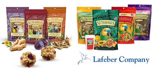 Lafeber™ logo and Nutri-berries™